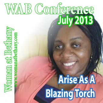 Valarie WAB 2013 Message