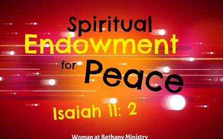 spiritual endowement